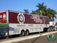 Carreta da Justiça chega a Alcinópolis para atendimentos judiciários