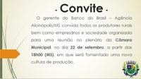- CONVITE -
