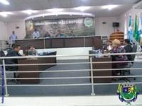 Indicações e Projetos de Lei são apresentados e votados durante Sessão Ordinária