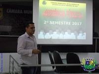 Legislativo apresenta o RGF e Prestação de Contas referente ao 2º semestre de 2017 em Audiência Pública