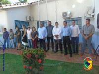 Legislativo municipal prestigia entrega de veículos e equipamento médico em Alcinópolis