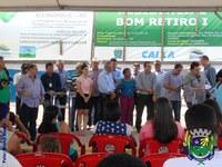 Legislativo participa de entrega de obras em Alcinópolis