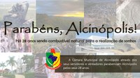 Parabéns, Alcinópolis!