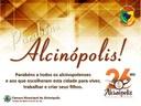 Parabéns Alcinópolis!