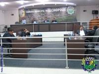 Sessão Ordinária acontece no plenário da Câmara Municipal