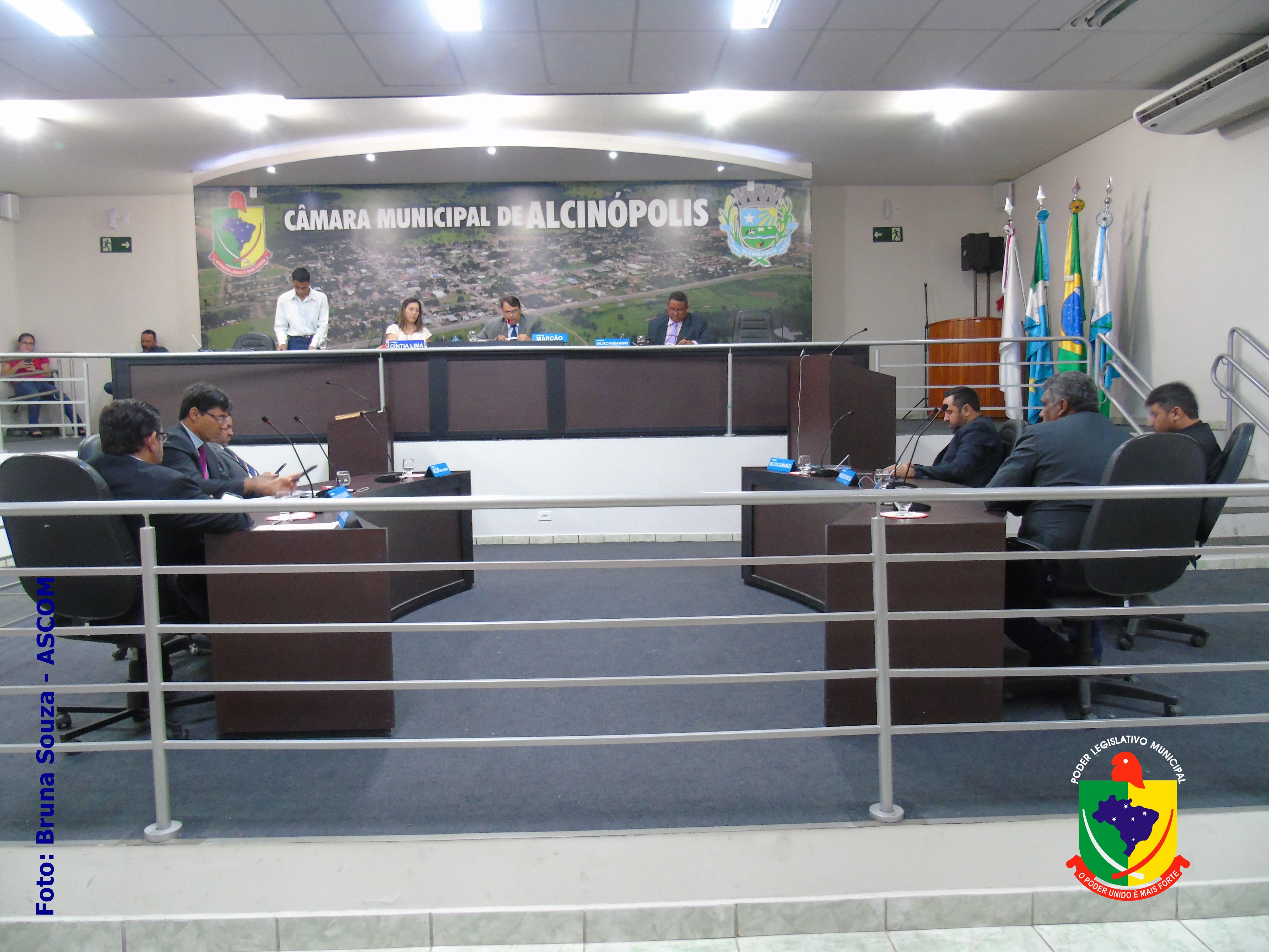 Sessão Ordinária é realizada à portas fechadas atendendo recomendações da OMS