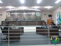 Sessão Ordinária é realizada no plenário da Câmara Municipal de Alcinópolis