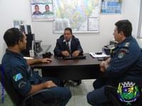 Vereador recebe visita de representantes da PMMS