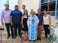 Vereadores participam de missa em homenagem ao Legislativo