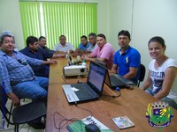 Vereadores participam de reunião para a elaboração do Plano Diretor Participativo