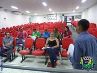 Vereadores participam de reunião sobre o Censo Agropecuário 2017